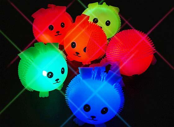 81c93b835c2eb6 【景品玩具まとめ買い・光るおもちゃのまとめ買い】 光るたれ耳うさぎヨーヨー (12個入)